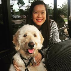 #throwbackthursday to dinners on patios with my parents!  I'm wishing for warmer weather so they can start taking me out to eat with them again! #cheevers #uptown23rdokc #myoklahoma #goldendoodlesofinstagram #goldendoodle #doodle #doodlelove #bestwoof #ruffpost #clubdoodle #topdogphoto #lacyandpaws #dogsofinstagram #excellent_dogs #photos4ellen #doodletales #tbt by alan_goldendoodle