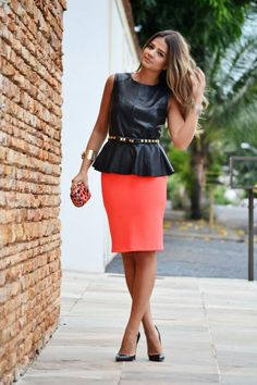Pretty in a peplum