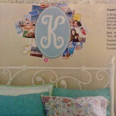Super cute for a teenage girls room.