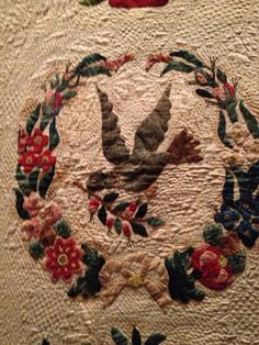 Tropical Applique: TESAA 2013 Part 1 - Quilts in the Baltimore Manner