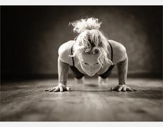 Beautiful and strong chatarunga. Notice how the elbows are not higher than the shoulders.BMAC Photography | Yoga