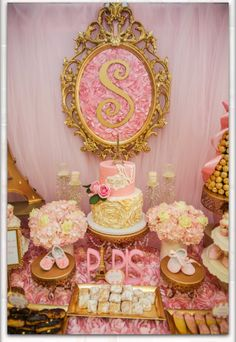 Dessert table collaboration by Bizzie Bee Creations by Iris and The French Confection