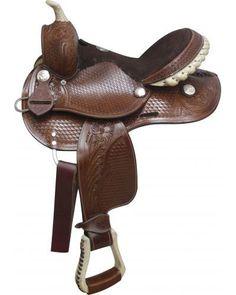 Dream saddle. Double T Pony Saddle - #0286