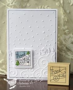 WT511 Simple Thanks by Cook22 - Cards and Paper Crafts at Splitcoaststampers