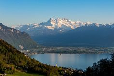 Le Site, Midi, Switzerland, Thats Not My, River, Mountains, Nature, Outdoor, Image