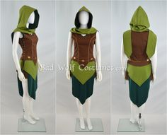 Become one of the fair woodland folk with this elven costume set! Its equally…