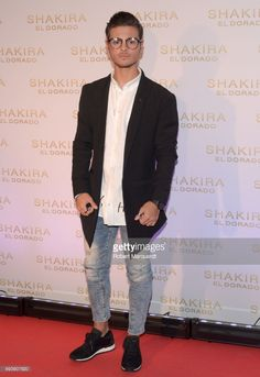 Abraham Mateo poses during a photocall for the new Shakira album 'El Dorado' at the Convent of Angels on June 8, 2017 in Barcelona, Spain.