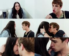 """""""You don't tell me who I can and can't fancy, all right?! That is mine. That belongs to me, no one else, no one. Not even you."""" Love this bit :'). My mad fat diary"""