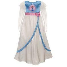 Disney Girls Deluxe Cinderella Nightgown