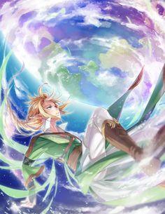 Fantasy Link by inabottleofstars