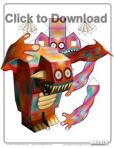 Screech Node Monster model