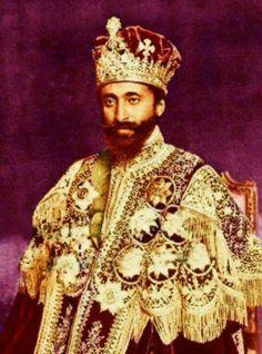 Africa's last emperor Haile Selassie I