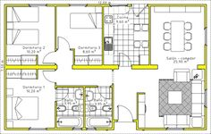 Drawing House Plans, Cabin House Plans, Cabin Homes, Ideas Para, Tiny House, Floor Plans, House Design, Flooring, How To Plan