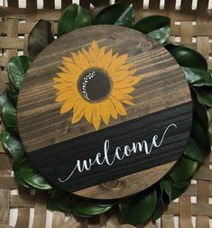 Wooden Door Signs, Front Door Signs, Porch Signs, Wooden Wall Art, Wooden Doors, Wooden Welcome Signs, Fall Wood Signs, Diy Wood Signs, Diy Wood Projects