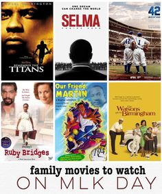 Movies you can stream today about Martin Luther King Jr. | Rage Against the Minivan | Bloglovin'