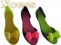 XCESS ΤΖΕΛ ΜΠΑΛΑΡΙΝΕΣ ΣΕ 3 ΧΡΩΜΑΤΑ #flat #shoes #greece #greek