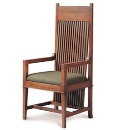 My throne chair - Frank Lloyd Wright Collection Dana Thomas Large Arm Chair