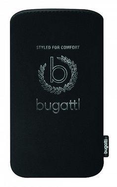 Bugatti SlimCase STNeopren Iconic iPhone 5 Schwarz