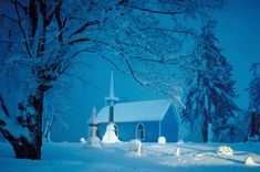country+churches | Country Church In Winter