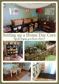 There are so many wonderful positives when you open your home as a child care service to share with other families and their children.but i'm not going to lie, it can also be frustrating, tiring,. Daycare Setup, Daycare Organization, Daycare Ideas, Playroom Ideas, Daycare Design, Daycare Forms, Kids Daycare, Daycare Crafts, Home Childcare