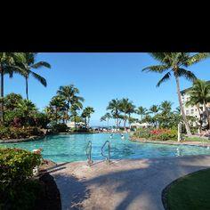 Westin KOV south pool, Kaanapali, Maui, Hawaii  #placesinparadisetravel