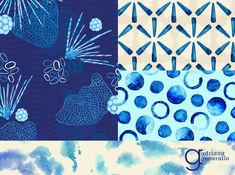 """Adriana Generallo From The Textile Design Lab: Chelsea's Challenge – """"Tidal Beachcomber"""" Collections"""