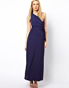 6c851e8c74e Possible ball dress. ASOS Maternity Exclusive Maxi Dress With One Shoulder