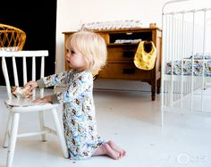 lovely white dress for girls in nOeser baby clothing and baby lifestyle AW14/15 collection. check www.noeser.eu for more