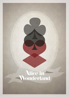 11 Clever Minimalist Disney Posters | Alice in Wonderland