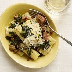 WeightWatchers.com: Weight Watchers Recipe - Rigatoni with Sausage and Kale