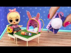 17 DIY LOL Surprise School Supplies And Crafts - YouTube