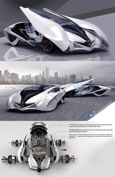 ♂ Dolphin concept car is the third winner of Michelin design challenge 2013, it reflects the principle of sporty, scientific and futuristic. The body structure is constructed from full transparent glass and carbon fiber, light weight design to ensure security as well as reduce the energy consumption. a concept car that boasts smart technology with lightweight body, effectively reduce any energy consumption for better environment…