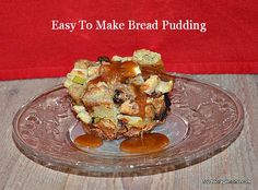 Easy Bread Pudding In Muffin Tins by Food Storage Moms