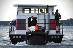 Amphibious Houseboat 'Beast of Burden' | HiConsumption Lotus Esprit, Amphibious Vehicle, 427 Cobra, Grey Vans, States Of Matter, Carroll Shelby, Apocalypse Survival, Jaguar E Type, Beast