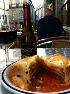 Francesinha |  #Porto #Portugal Delicious [Had this in Porto SEVERAL times. Don't tell my cardiologist!!!!!!!!]