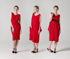 Download the Wrap Dress sewing pattern here: http://etsy.me/1gyFRwC There are endless ways to wear this Wrap Dress. This dress is easy to twist and tie on al...