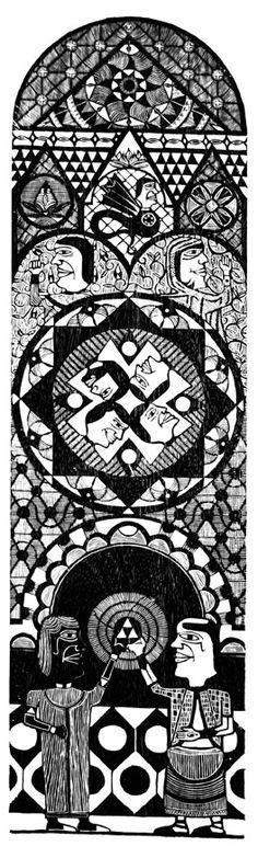 Xilogravura, a madeira entalhada com a poesia Nordestina.