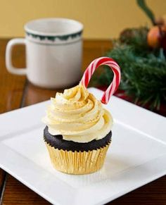 Chocolate Nog Cupcakes from Cheers to Vegan Sweets by Kelly Peloza