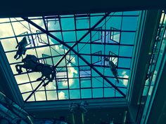 Mall of Berlin. I love unicorns!