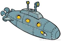 Submarine Stock Illustrations, Vectors, & Clipart – (1,935 Stock ...