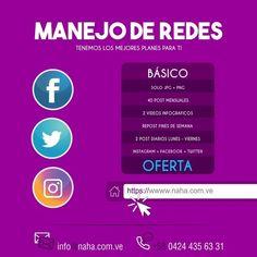 #Diseño #Grafico #Web #Manejo de #Redes #NAHA . Que es ? @naha.com.ve Diseño Gráfico / Manejo de Redes / Diseño Paginas Web / Desarrollo de Contenido /Publicidad Exterior e Impresión . Quieres saber mas? Solo Ingresa: WWW.NAHA.COM.VE . #chile #mexico #bolivia #girl #humor #ecuador #followme #republicadominicana #follow #love #photo #leggings #cotton #yogapants #designed #florida #customade #textile #cottonfabric #madeinusa #ethicallyproduced #pyro #papa #tico