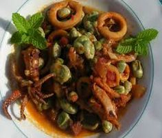 Σουπιές γιαχνί με φρέσκα κουκιά Meat, Chicken, Food, Essen, Meals, Yemek, Eten, Cubs