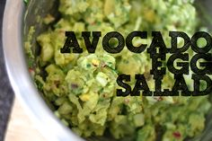 This Week's Challenge: Egg Salad Avocado Egg Salad...I'm listening.