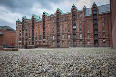 Speicherstadt warehouse district, HafenCity, Hamburg, Germany