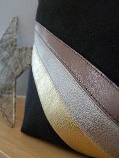 Image of Karyn pochette/sac suedine et cuir