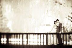 Infrared wedding photo