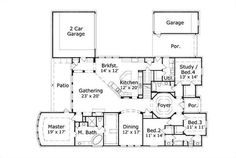 Traditional House Plans - Home Design OHP-40271-1 # 15674