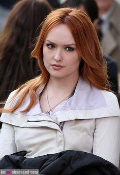 kaylee-defer. Love her hair!