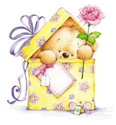 Birthday Card Illustration Teddy Bears 67 New Ideas Happy Birthday, Birthday Greetings, Birthday Wishes, Birthday Cards, Tatty Teddy, Decoupage, Birthday Clipart, Cute Clipart, Cute Teddy Bears