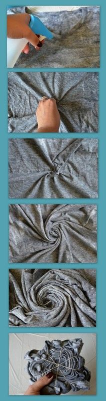 Slices of Samantha: Spiral Tie Dye Tutorial